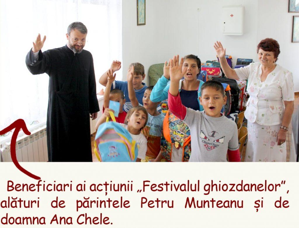 Festivalul ghiozdanelor marturie